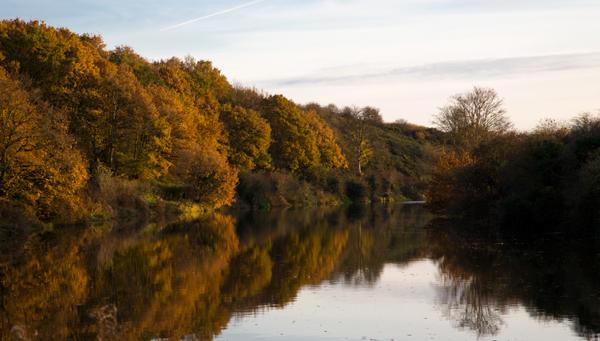Barnton Cut on the River Weaver