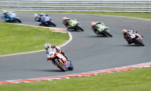 Number 91 - Leon Haslam out in front