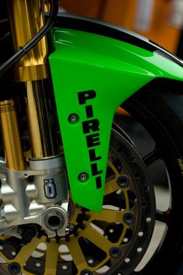 British Superbikes Kawasaki Front wheel
