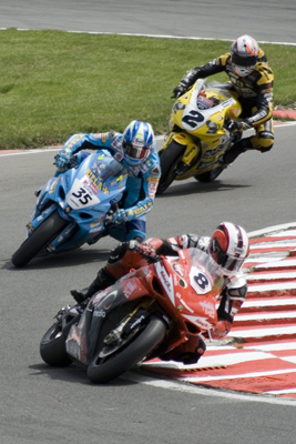 Tommy Hill, Cal Crutchlow and Leon Camier.