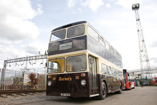 S Turner and Sons Ltd Daimler Fleetline JBF 169N