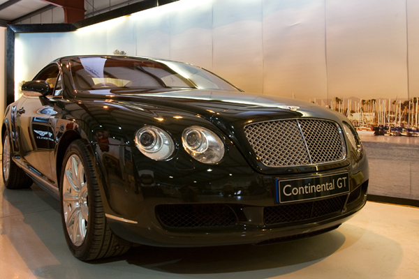Prototype Bentley Continental GT