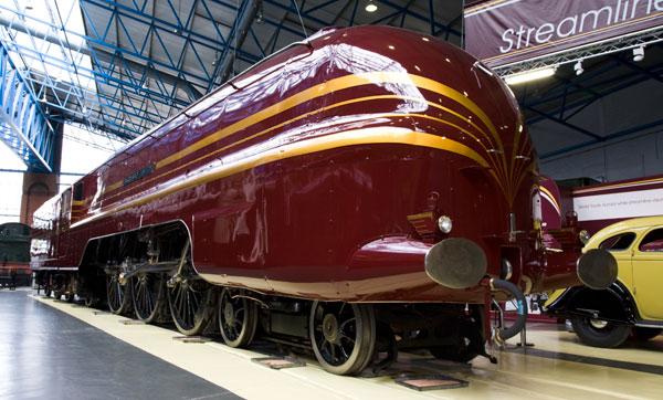 Duchess of Hamilton Streamlined Coronation class No 46229