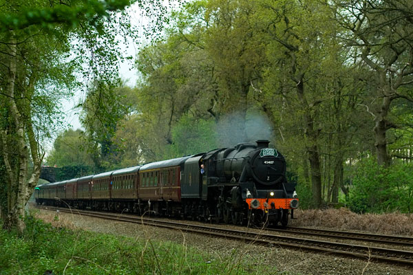 Steam Day Special Stanier Black5 45407 -
