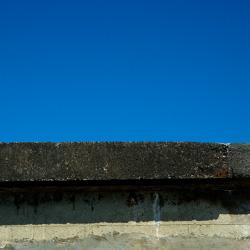 Wall under a Blue Sky